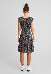 Dorothy Perkins Petite - DITSY BUTTON DRESS - Day dress - black - 3