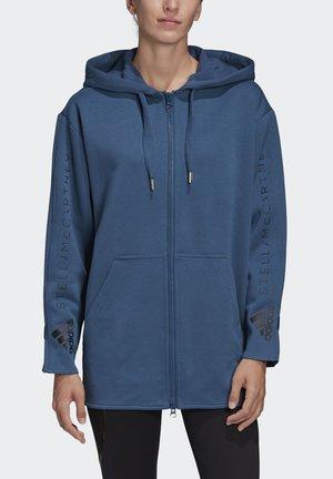OVERSIZE HOODIE - Felpa aperta - blue