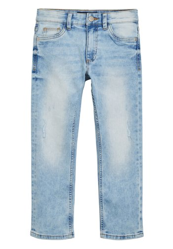 DENIM BLEACH REGULAR FIT FIVE POCKET JEANS (3-16YRS)