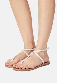 Even&Odd - T-bar sandals - white - 0