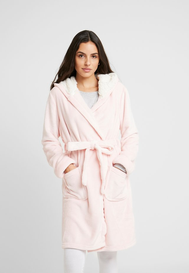 MAELIS  PLUSH BATHROBE  - Badjas - pink