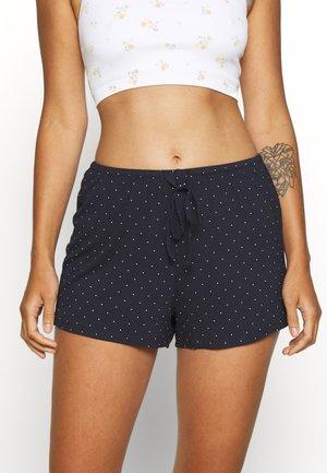 NIGHT SHORTS DOT - Pantaloni del pigiama - dark blue