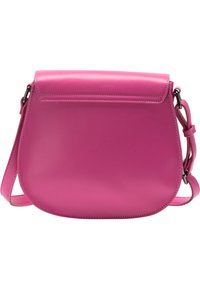 IZIA - MIT KUNSTFELL - Across body bag - pink - 2