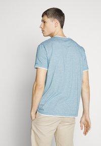 Esprit - Print T-shirt - petrol blue - 2