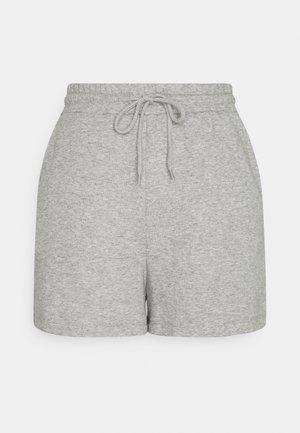 PCCHILLI SUMMER - Shorts - light grey melange