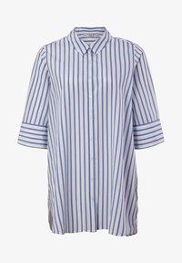 comma casual identity - Button-down blouse - powder blue stripes - 4