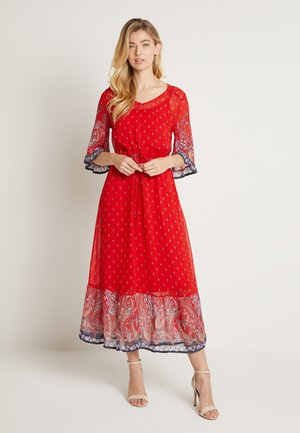 NALITACR DRESS - Maxikjole - aurora red