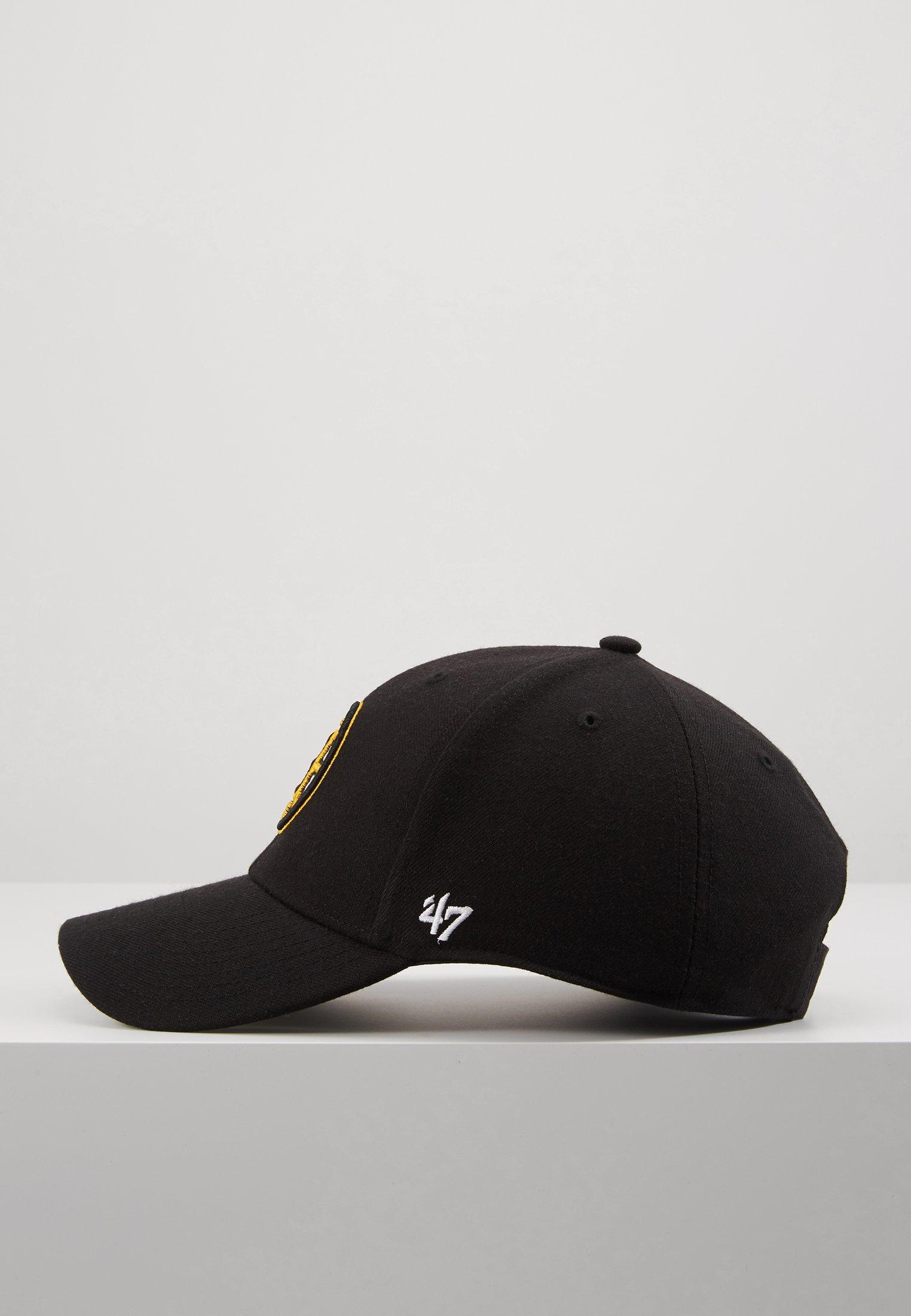 '47 BOSTON BRUINS - Cap - black/svart kOSS5Jjg2OtuZBK