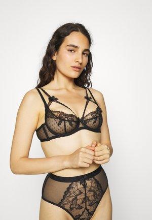 NICOLETTA BRA - Underwired bra - black