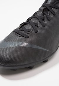 Nike Performance - MERCURIAL VAPOR 12 CLUB MG - Moulded stud football boots - black/anthracite/light crimson - 5