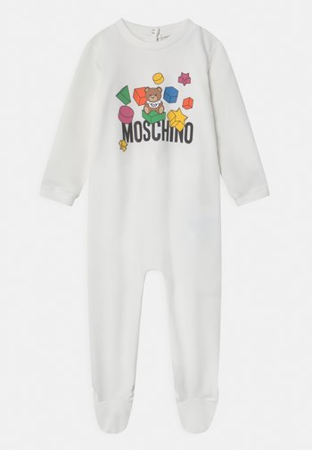 BABYGROW ADDITION UNISEX - Sleep suit - optic white