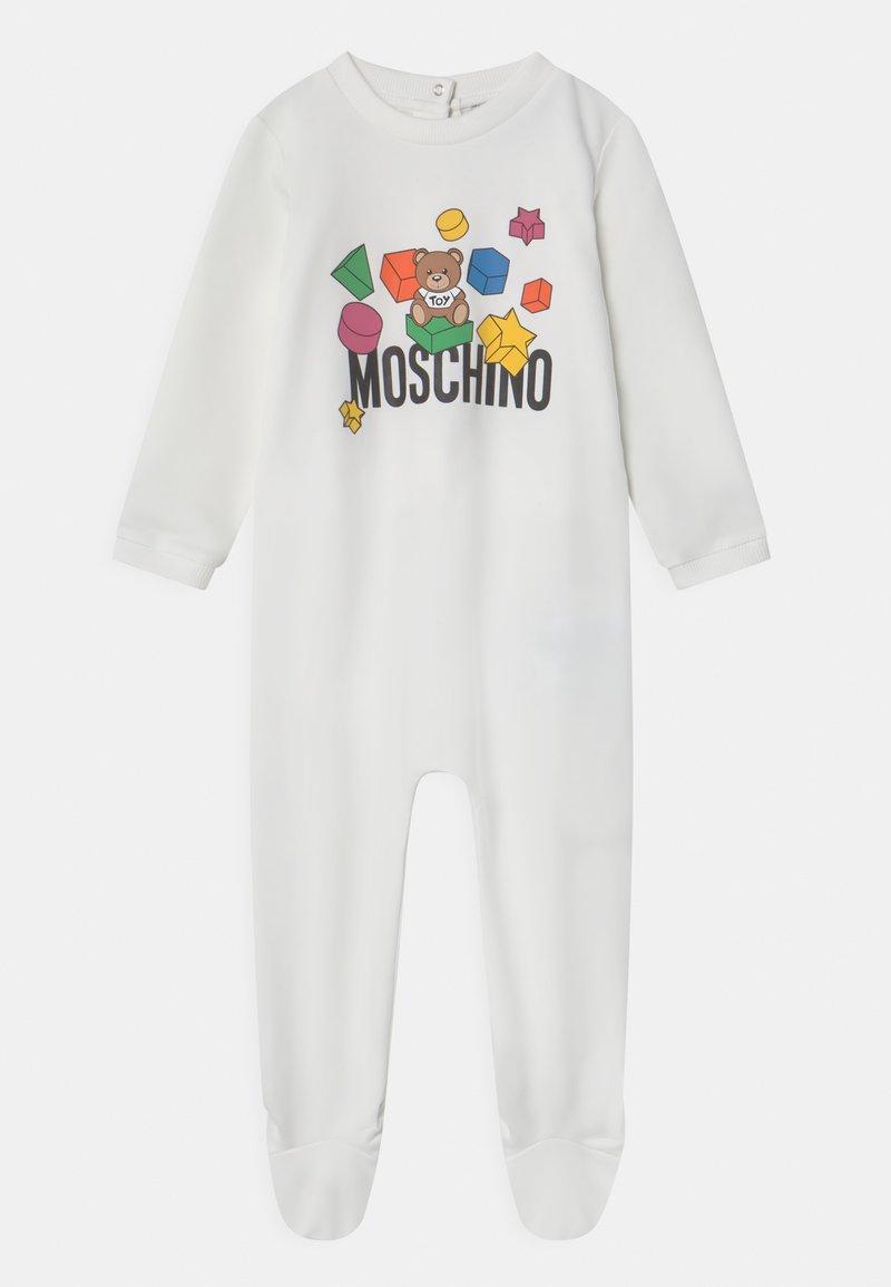 MOSCHINO - BABYGROW ADDITION UNISEX - Sleep suit - optic white