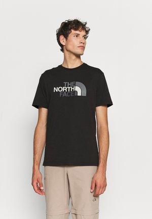 EASY TEE - Camiseta estampada - black