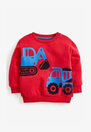 TRACTOR CREW - Sweatshirt - red