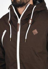 Solid - TILDEN - Light jacket - coffee bean - 3