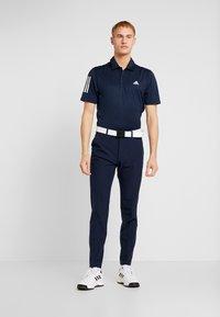 adidas Golf - STRIPE BASIC - Polotričko - collegiate navy/white - 1