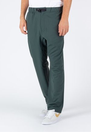 Trousers - dark teal