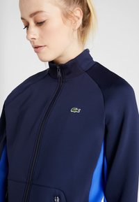 Lacoste Sport - TENNIS JACKET - Training jacket - navy blue/obscurity/white - 7