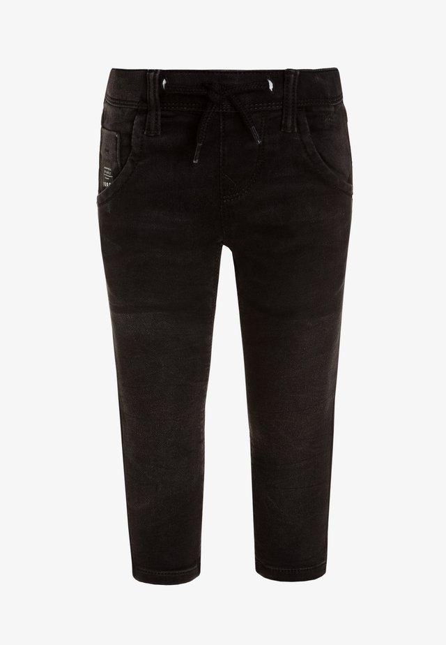 NKMROBIN PANT - Slim fit jeans - black denim