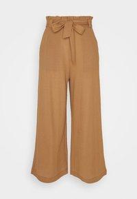 Vero Moda - VMKAYLA CULOTTE PANT - Bukse - tobacco brown - 0