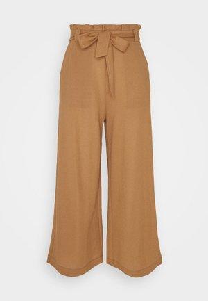 VMKAYLA CULOTTE PANT - Kalhoty - tobacco brown