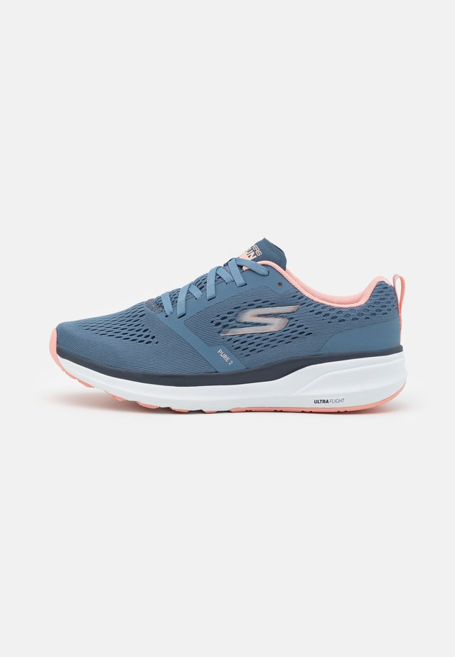 PURE 2 - Scarpe running neutre - blue/coral