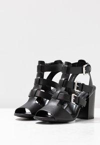 New Look - PENG - Sandály na vysokém podpatku - black - 4