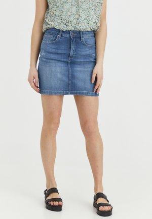 ADRIA - Gonna di jeans - light blue