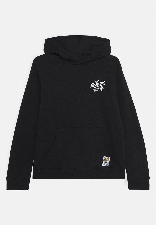 LIBERTY HOOD BOY - Bluza z kapturem - flint black