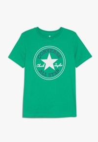 Converse - CORE CHUCK PATCH TEE  - T-shirt con stampa - bold jade - 0