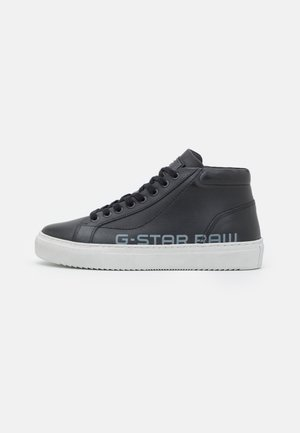 LOAM MID WORN W - High-top trainers - black