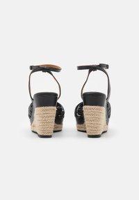 Divine Factory - Platform sandals - noir - 3