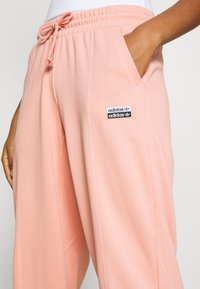 adidas Originals - REGULAR JOGGER - Tracksuit bottoms - trace pink - 3