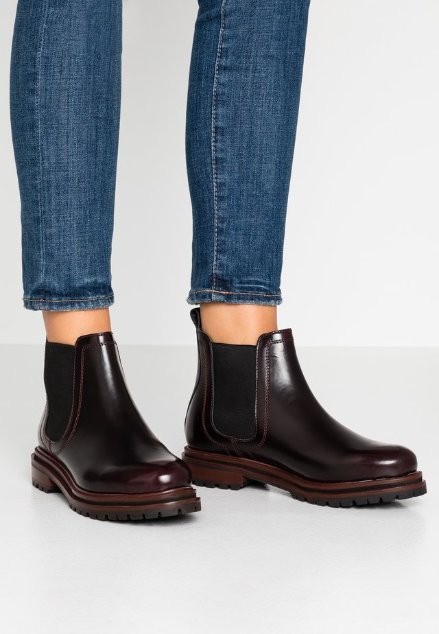 WISTY - Ankelboots - oxblood