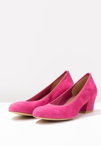 PERLATO - Classic heels - fuxia - 4