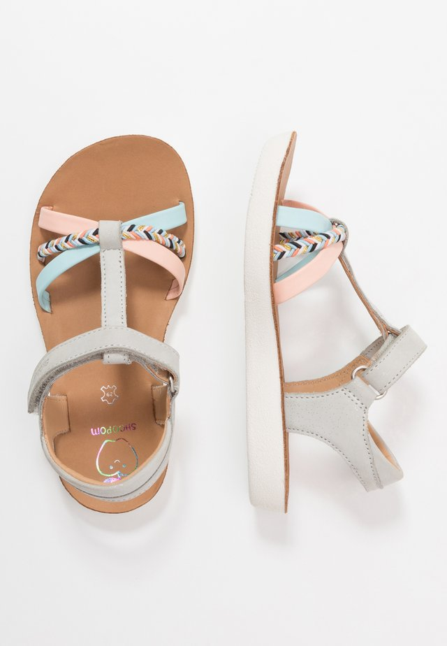 GOA SALOME - Riemensandalette - cloud/multicolor/pastel