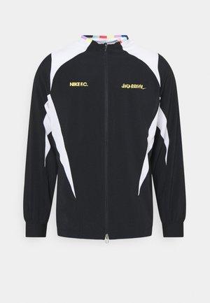 FC - Training jacket - black/white/saturn gold