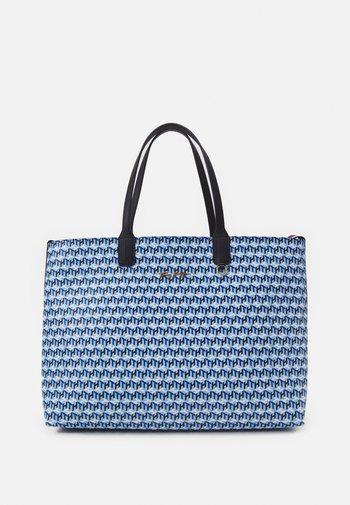 ICONIC MONOGRAM SET - Shopping bag - blue