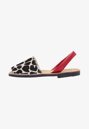 JUNA - Sandals - red