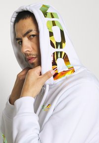 Carlo Colucci - UNISEX - Zip-up sweatshirt - white reflectiv - 3