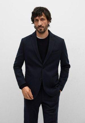 MINER - Blazer jacket - bleu marine foncé