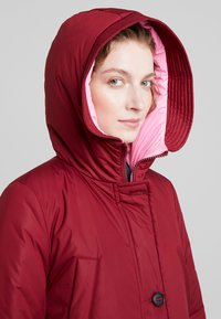 Marc O'Polo - BIG PUFFER COAT PADDED REVERSIBLE - Cappotto invernale - light beetroot - 3
