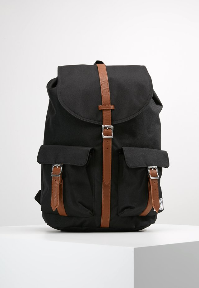 DAWSON - Ryggsekk - black/tan