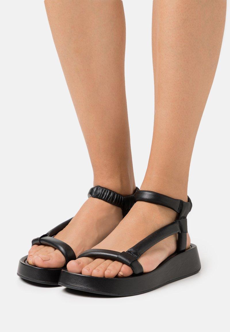 Ash - VICTORIA - Platform sandals - black