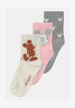 GIRLS MICKEY MOUSE 3 PACK - Ponožky - multi-coloured