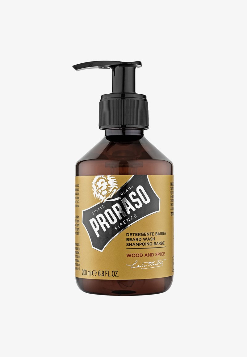 Proraso - BEARD WASH - Beard shampoo - wood & spice