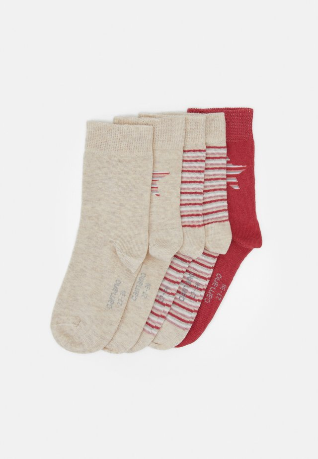 ONLINE CHILDREN SOCKS 5 PACK - Calcetines - nature melange
