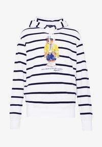 Polo Ralph Lauren - Kapuzenpullover - white/cruise navy - 3