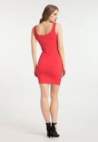 faina - Shift dress - rot - 2