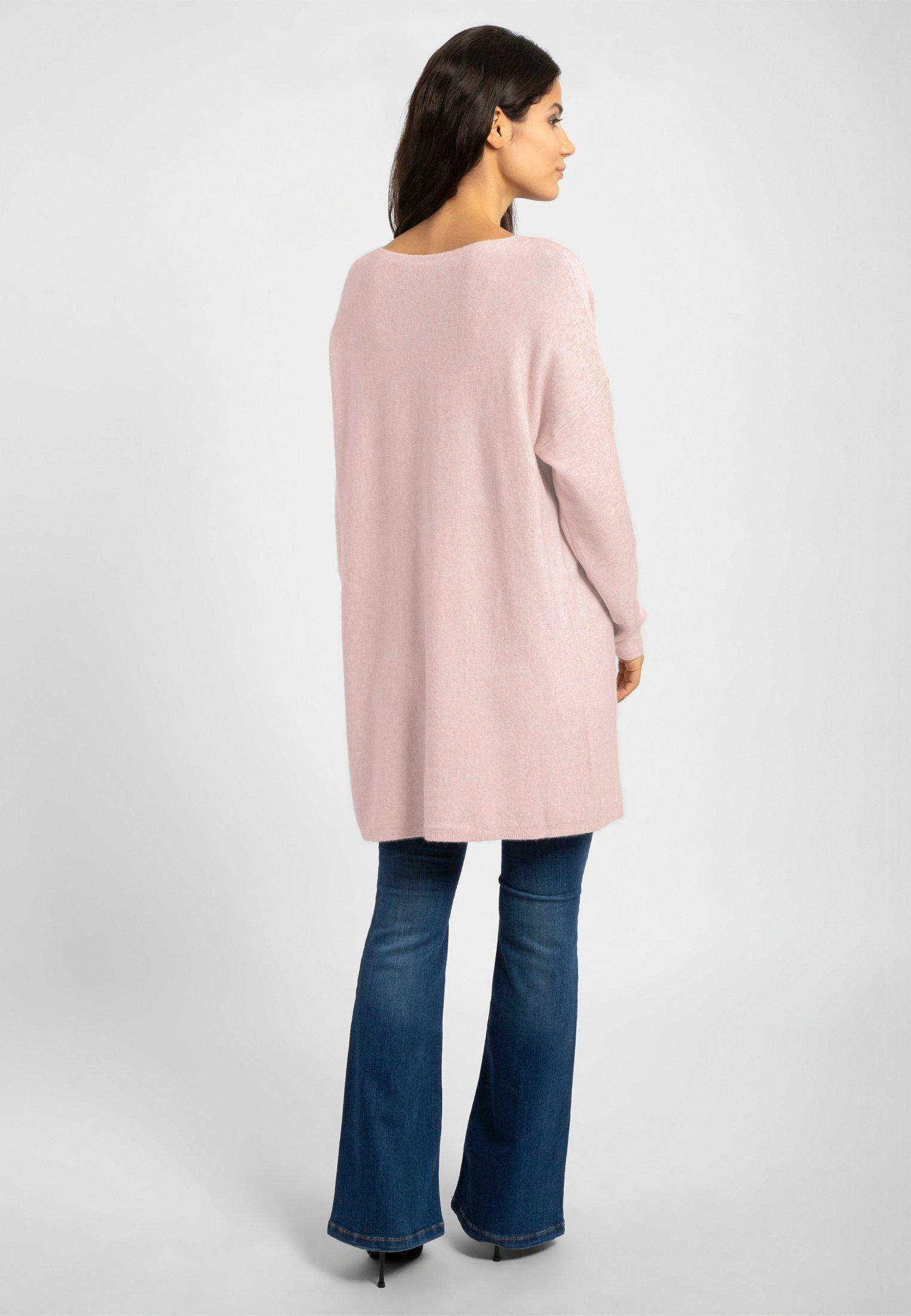 Apart Strickkleid rosa